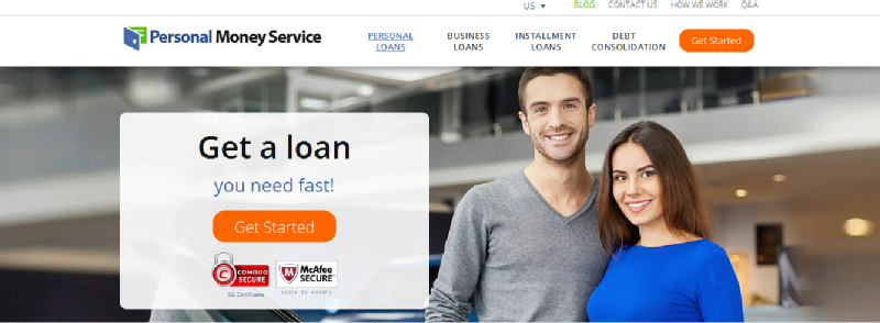 Images from Personal Money Service