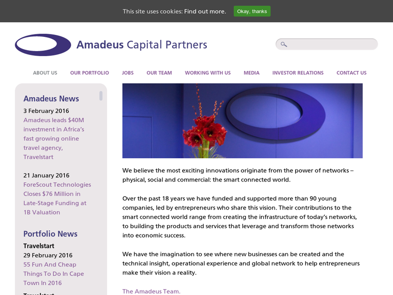 Images from Amadeus Capital Partners