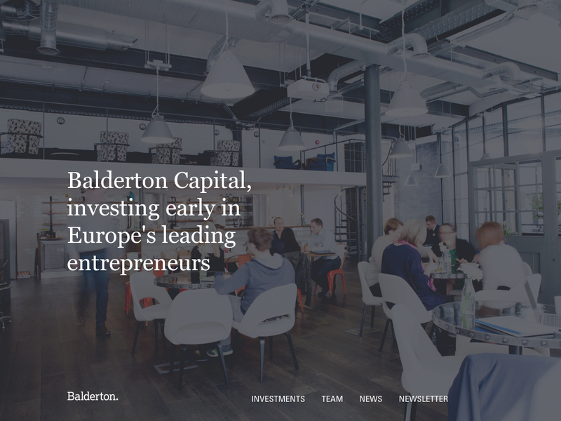 Images from Balderton Capital