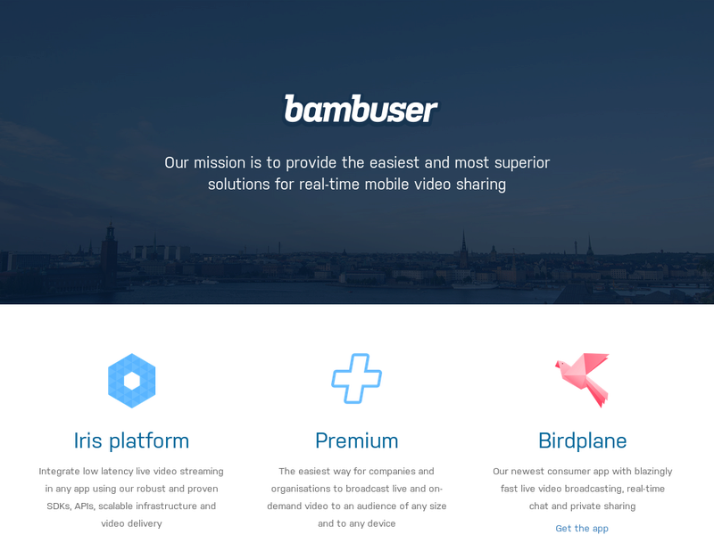 Images from Bambuser