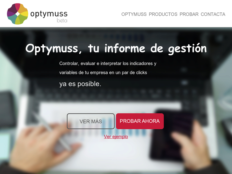 Images from OPTYMUSS