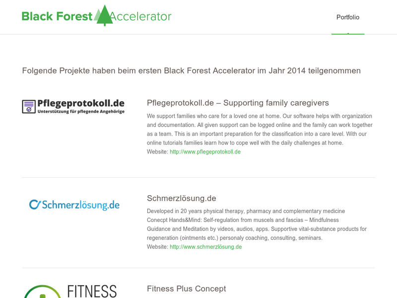Images from Black Forest Accelerator