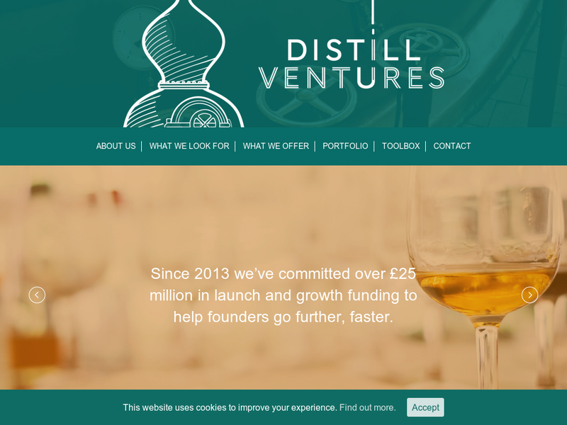Images from Distill Ventures