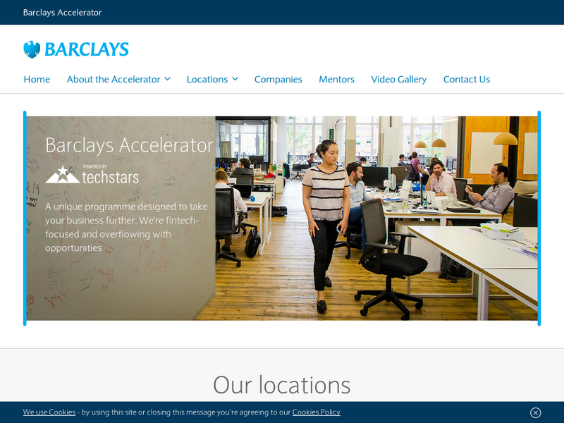 Images from Barclays Accelerator