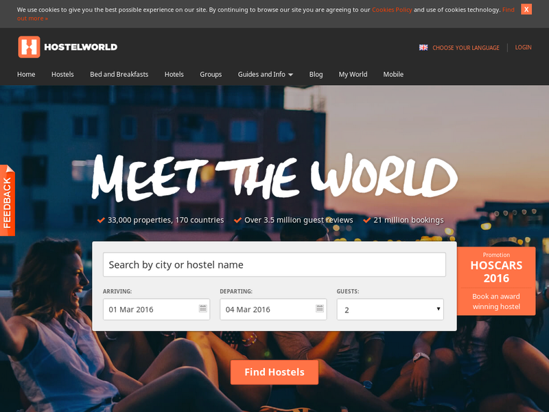 Images from Hostelworld