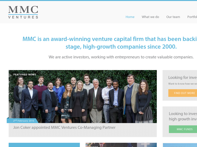 Images from MMC Ventures