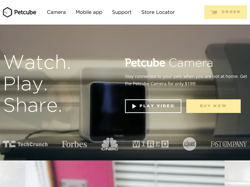 Images from Petcube