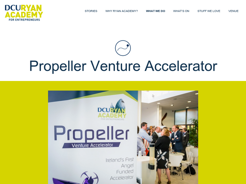 Images from Propeller Venture Accelerator