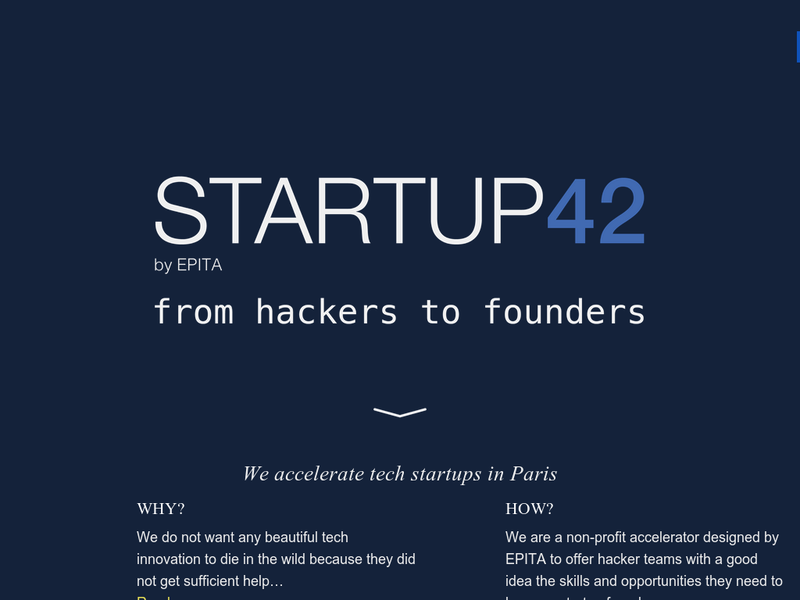 Images from StartUp42