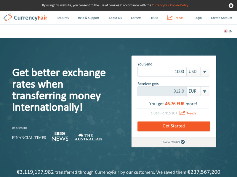 Images from CurrencyFair