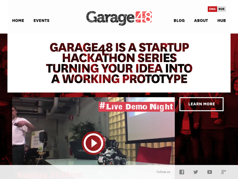 Images from Garage48