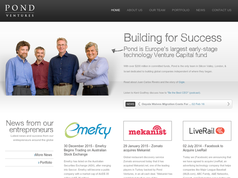Images from Pond Venture Partners