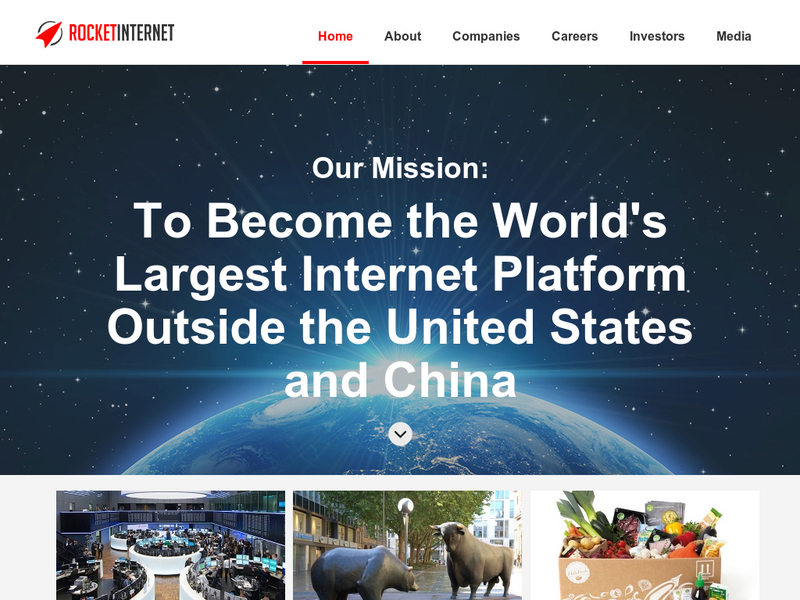 Images from Rocket Internet
