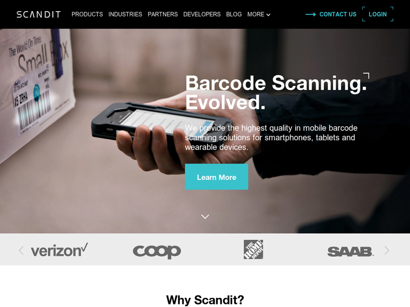 Images from Scandit