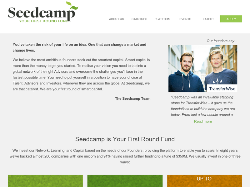 Images from Seedcamp
