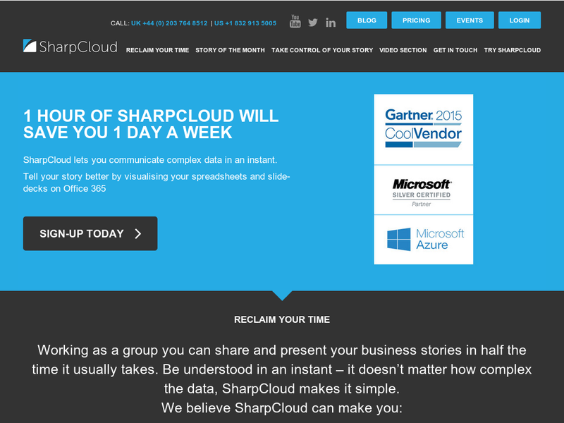 Images from sharpcloud