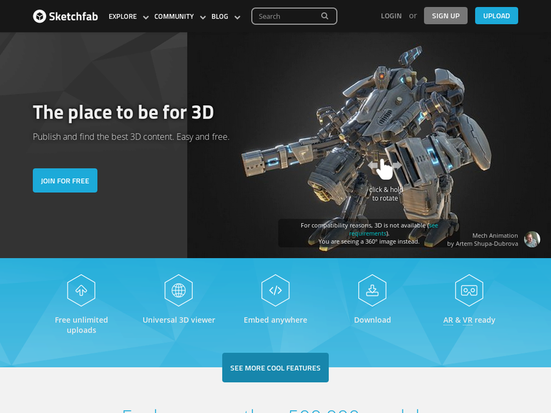 Images from Sketchfab