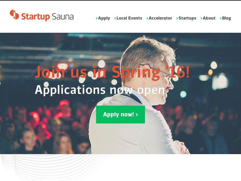 Images from Startup Sauna