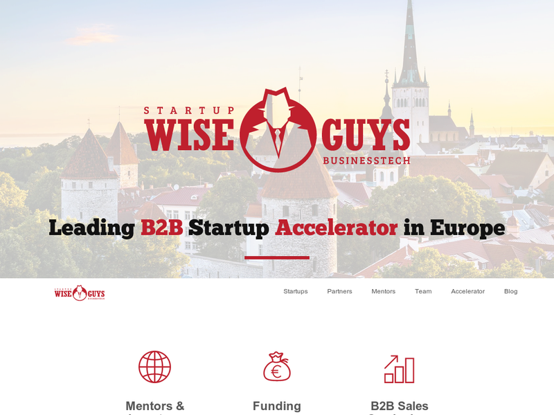 Images from Startup Wise Guys