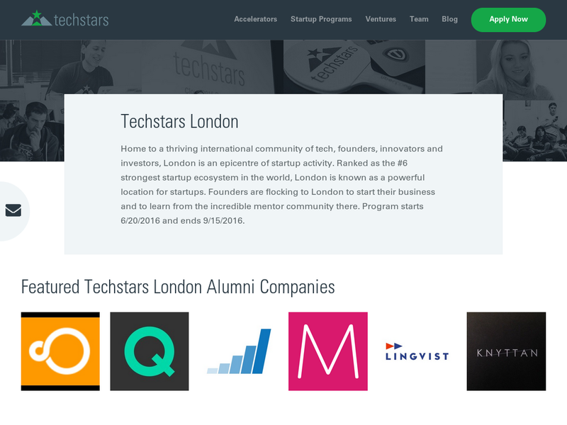 Images from TechStars London