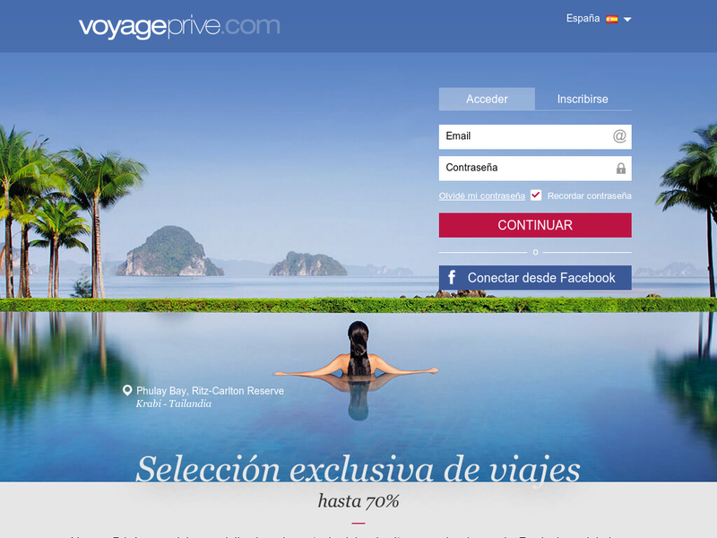 Images from Voyage Privé