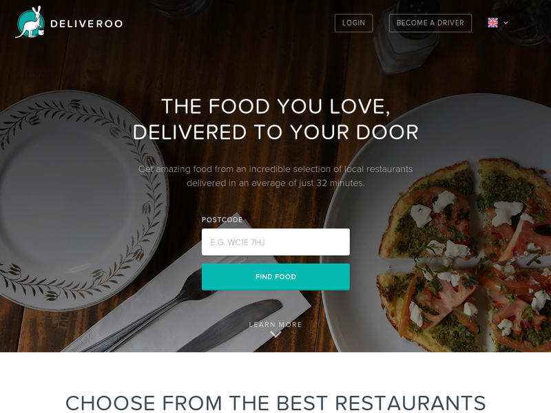 Images from Deliveroo