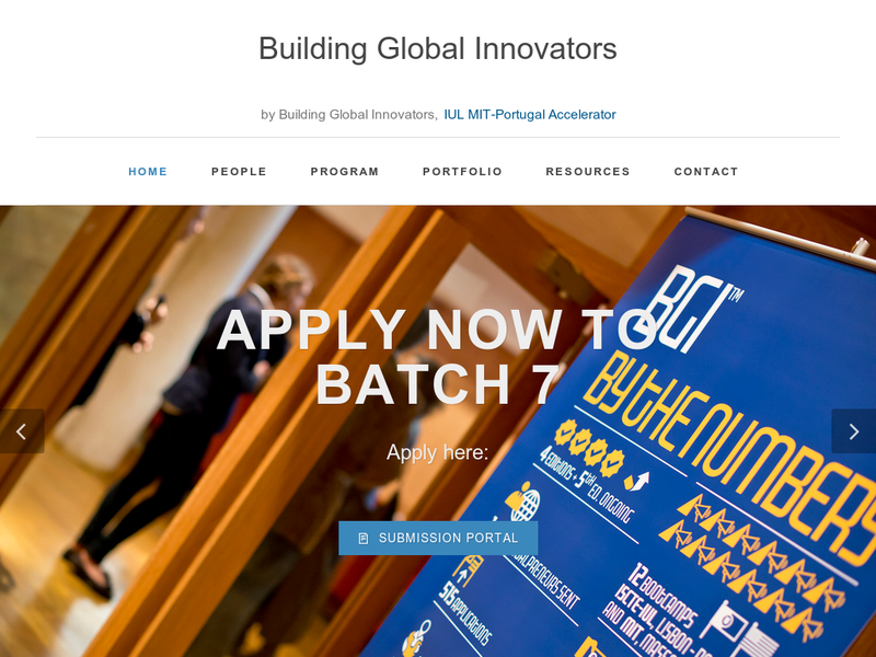 Images from Building Global Innovators - MIT Portugal