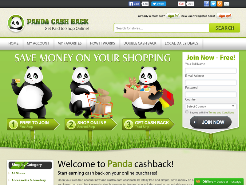 Images from Panda CashBack LLC