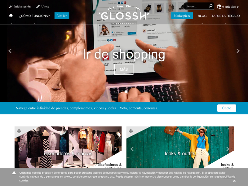 Images from Glossh marketplace