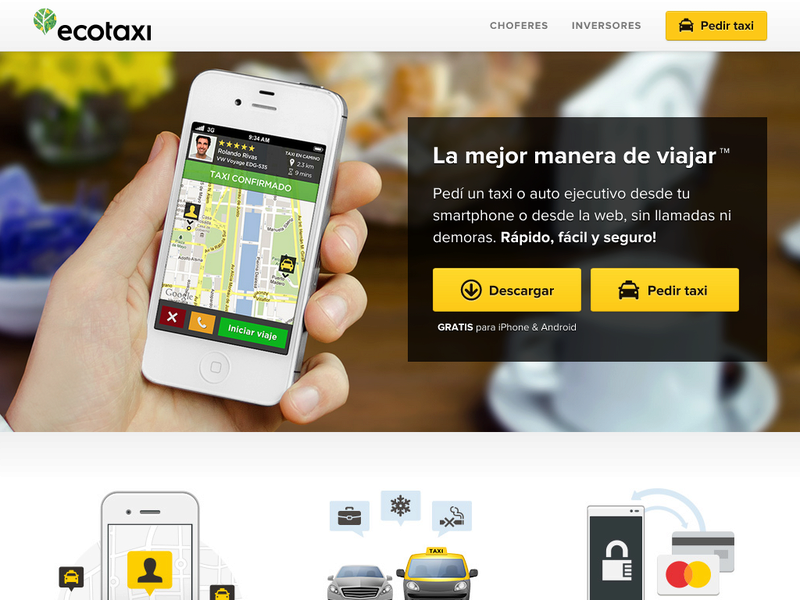 Images from ecotaxi