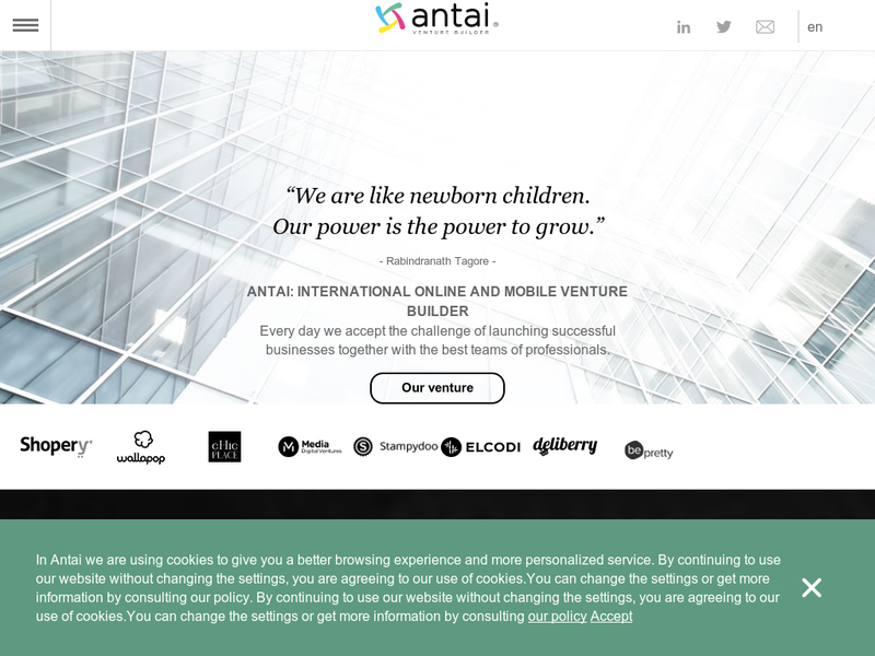 Images from Antai Venture Builder