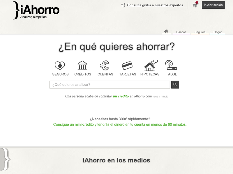 Images from iAhorro
