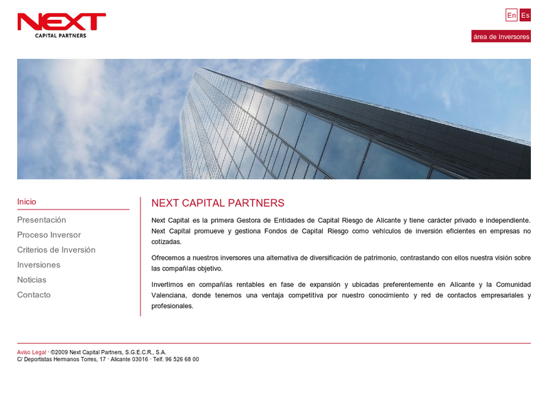 Images from Next Capital Partners SGECR, SA