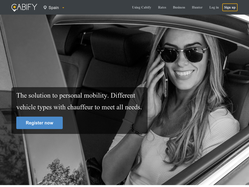 Images from Cabify