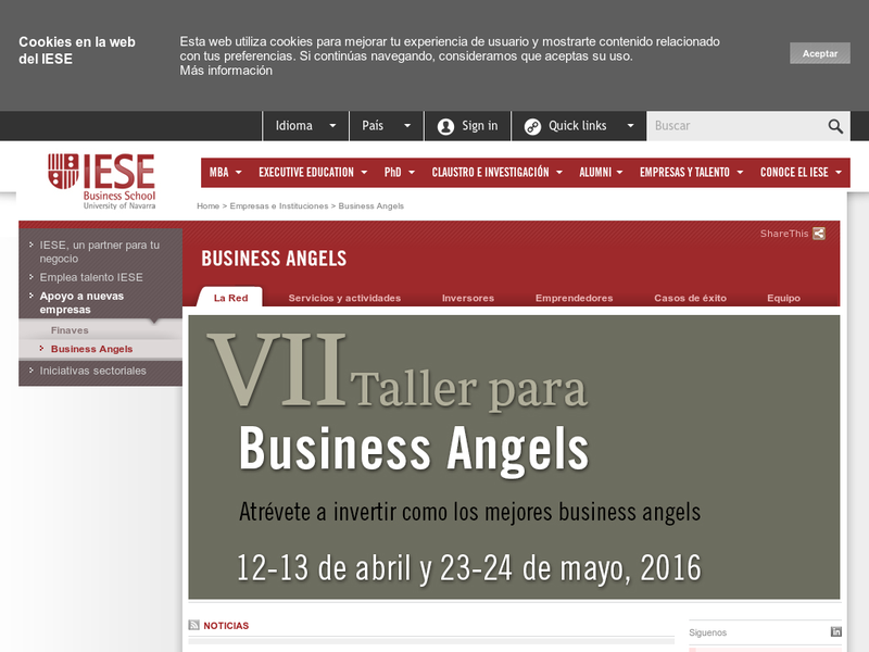 Images from IESE-Red de Business Angels