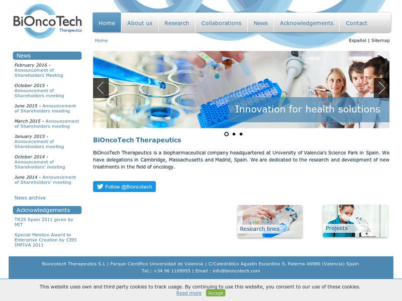 Images from BiOncotech Therapeutics