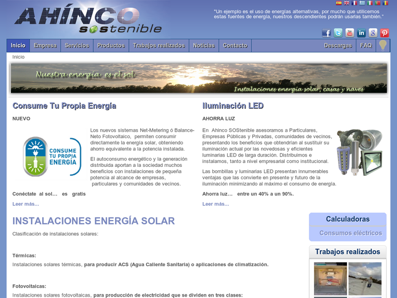 Images from Ahinco Sostenible