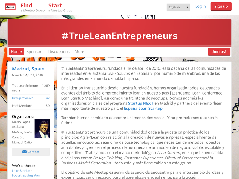 Images from #TrueLeanEntrepreneurs