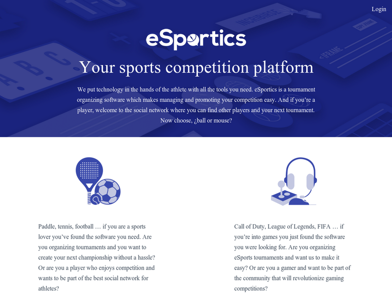 Images from eSportics