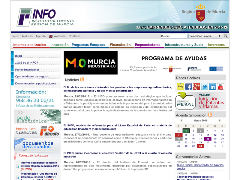 Images from Instituto de Fomento de la Región de Murcia