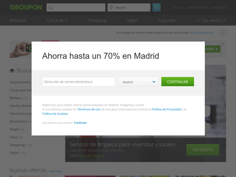 Images from Groupon Spain