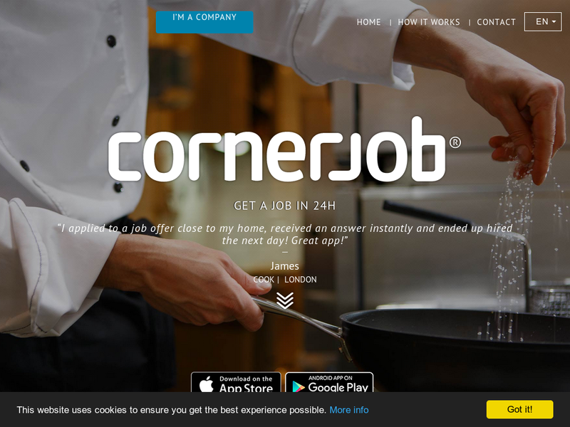 Images from CornerJob