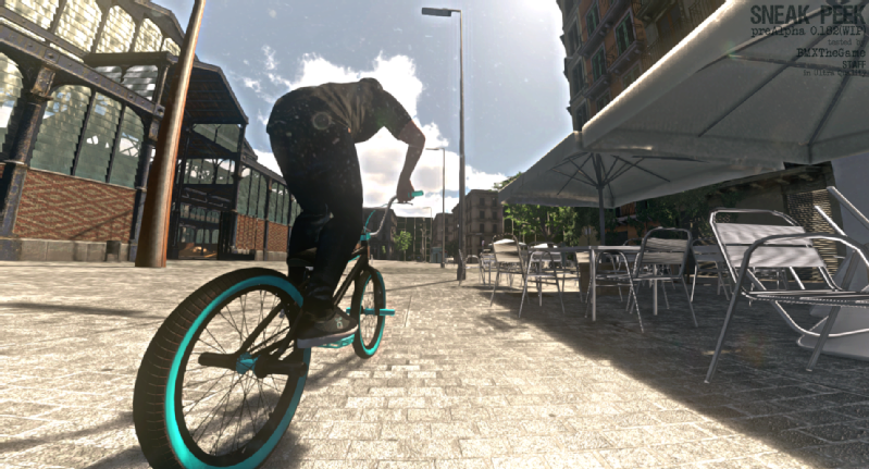 Images from BARSPIN STUDIOS - BMX The Game