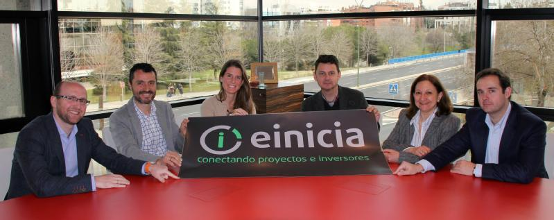 Images from EINICIA CROWDFUNDING