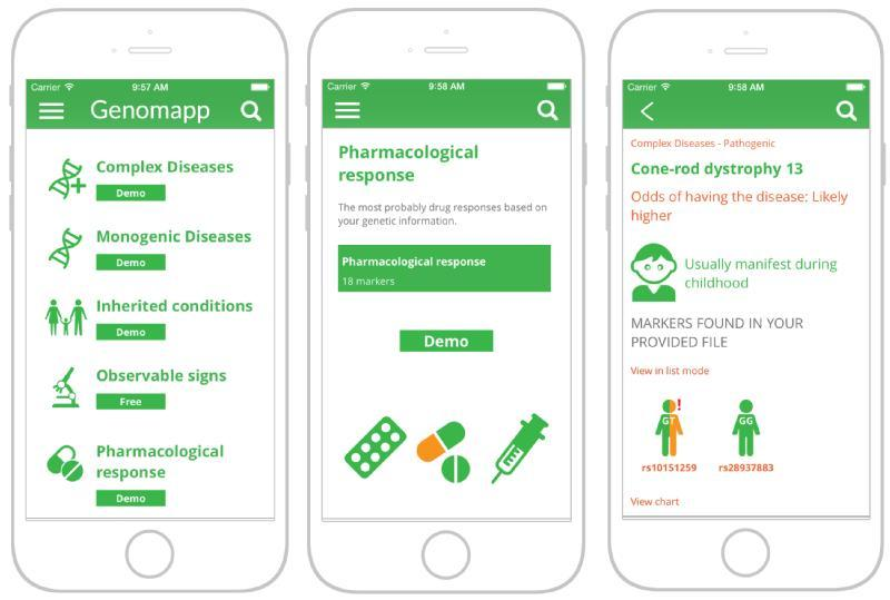 Images from Genomapp