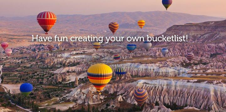 Images from Bucketlistmap