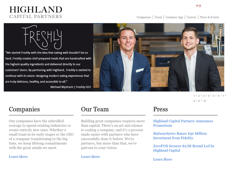 Images from Highland Capital Partners