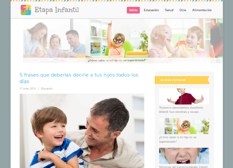 Images from Etapa Infantil