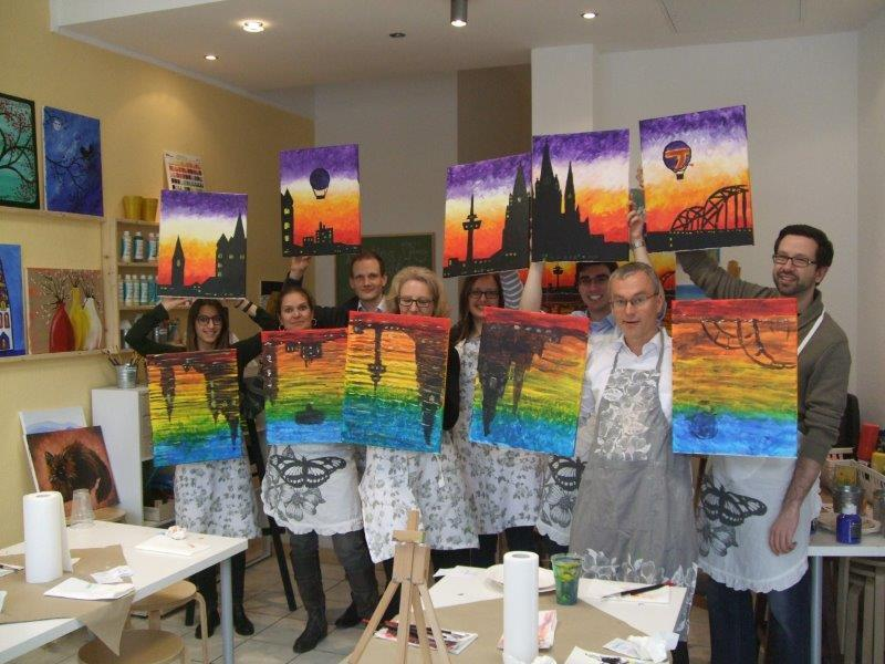 Images from Painting Partys