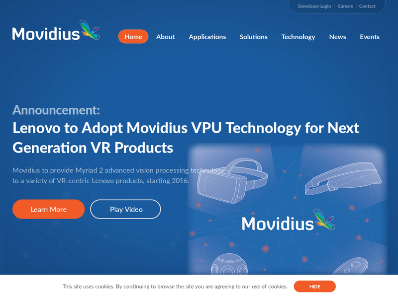 Images from Movidius